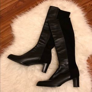 New Stuart Weitzman leather boot in size 7.5